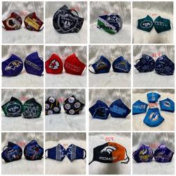 1 NFL Football Teams Adult Face Mask