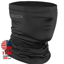 ROCKBROS Neck Gaiter Black Face Mask Breathable Cool Sports