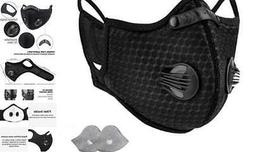 1 Pack Sports Face Protection, Washable Breathable with 2 Ex