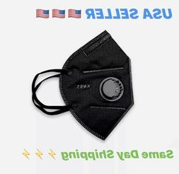 BLACK Sport Face Mask CE/ECM    USA SELLER 🇺🇸    1 DA