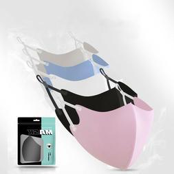 10-Pack Adjustable Fashion Face Mask  Reusable Washable