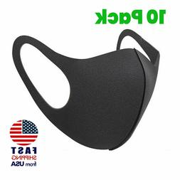 10 pieces Unisex Face Mask Reusable Washable Cover Masks Fas