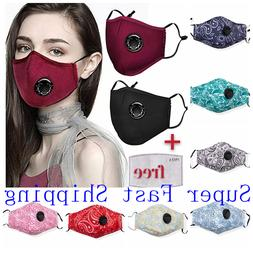 100 percent cotton cloth face mask air