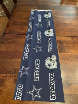 "100% Cotton NFL DALLAS COWBOYS FABRIC, 7.5"" X 28""DIY MAS"