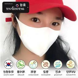 12 Color Cool Cotton Face Mask Washable Reusable Face Cover,