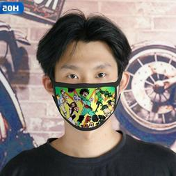 1PC Adult Cotton Half Face Sports Mask Anime My Hero protect