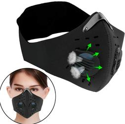 1pc breathing valve protective cycling mask activated
