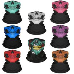 1PC Ghost Biker SKULL FACE MASK Motorcycle Ski Balaclava Hoo