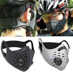 Reusable Outdoor Sports Anti Dust PM2.5 Filter Mouth Mask Fa