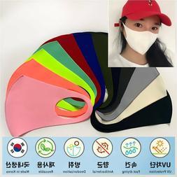 *2/6/12 packs* Washable Cool Face Masks Reusable 3D Cotton C