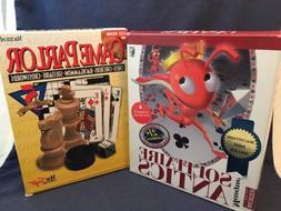 2 Games 1995 MacSoft Game Parlor MASQUE Solitaire Antics Mac