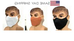 Face Mask Unisex easy to breath  lightweight washable reusa