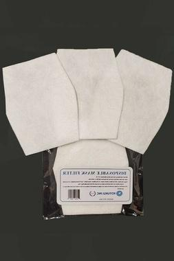 2 Packs of 10 HEPA Filters for Face Mask Made in USA Superio