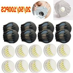 20-100PCS Breathing Valve Outdoor Air Breathing Filter Face