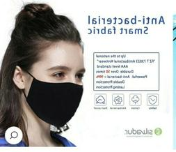 3 Black Reusable Safety Cotton Mask Anti-Pollution Air Purif