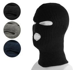 3 Hole Full Face Ski Mask Winter Beanie Balaclava Hood Tacti