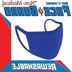 Reusable Face Mask Black Blue White Fashion Washable Masks