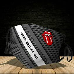 3D Face Mask The Rolling Stones - Cotton Mask 3D One Size Fi