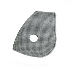 5pcs Filters M2.5 for Reusable Sport Mask with 2 Exhaust Val