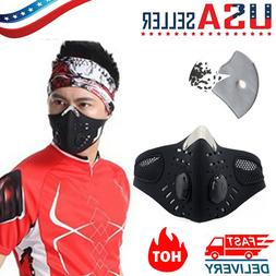 Activated Carbon Outdoor Riding Masks Air Purifying PM2.5 Fa