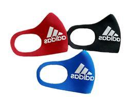 Adidas Neoprene Face Mask, Washable, Reusable. 3 Pack