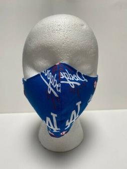 "Adults Cloth Face Mask ""LA Dodgers""