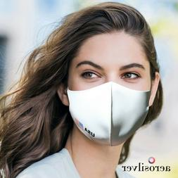 AEROSILVER High Quality Sports fashion face  mask, reusable,