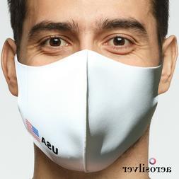 AEROSILVER Premium Quality fashion face mask, reusable