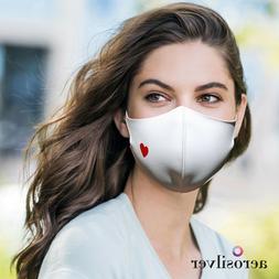AEROSILVER Premium Quality fashion face mask, reusable, Made