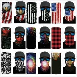 American Flag Balaclava Face Mask Gaiter Neck Biker Bandana