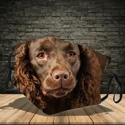 American Water Spaniel Dog This How I Save The World Face Ma