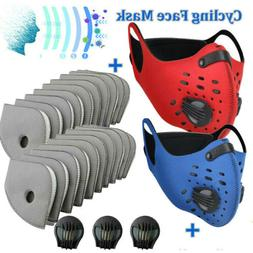 Anti-Pollution Sports Face Protection Cover Replaceable Filt