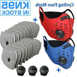 Anti-Pollution Sports Mask Valves Face Protection Cover Repl