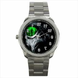 Army Gas Mask Stainless Steel Watches