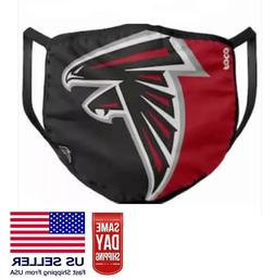 Atlanta Falcons Face Mask. Washable NFL Football Filter Slot