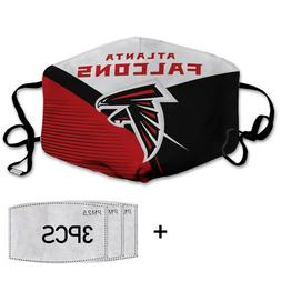 Atlanta Falcons NFL-cotton face mask with 03 activated carbo
