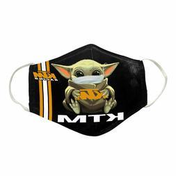 Baby Yoda Hugs KTM Reusable Face Mask Unisex Adult Mouth Cov