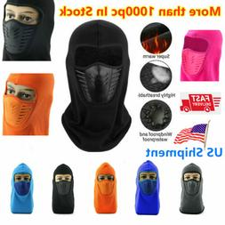 Balaclava Full Face Mask Motorcycle Cycling Ski Thermal Spor