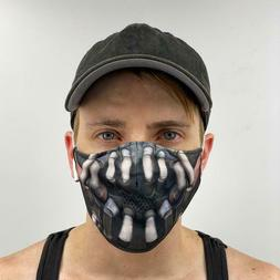 Bane Unisex Face Mask Reusable Washable Cover Masks Fashion