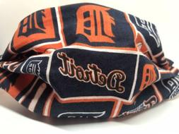 Baseball Detroit Tigers Fabric Face Mask MLB Sports Team Cov