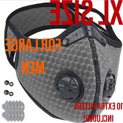 big man xl face mask with double