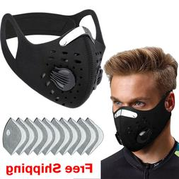 BIKING Sport Face Mask With Filter Activated Carbon PM 2.5 A