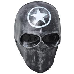 Black Army Of Two Airsoft Mask Protective Gear Outdoor Sport
