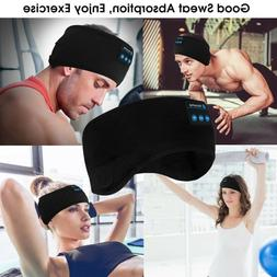 Bluetooth 5.0 Wireless Stereo Earphone Sport Headband Sleep