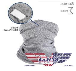 BZMask Sigma Gaiter Style Face Mask PM2.5 Filter / 4 Color O