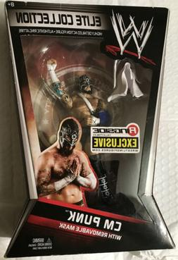 CM Punk w/ Removable Mask Straight Edge Society Ringside Exc