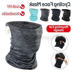 Cooling Neck Gaiter Tube Scarf Face Mask Cover Bandana Motor