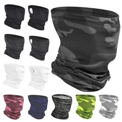 Cooling Sunscreen Face Mask Cover Neck Gaiter Balaclava Band