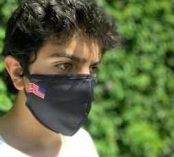 Cotton Face Mask American Flag Washable Reusable Comfortable