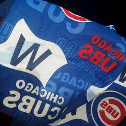 CUBS Fabric Washable Reusable Face Maskw/Tie ☆  CHICAGO Sp